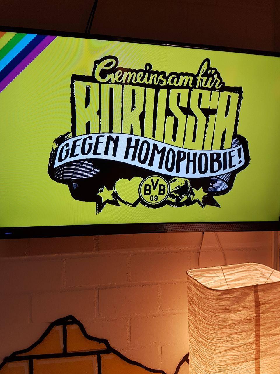 Gemeinsam für Borussia - gegen Homophobie