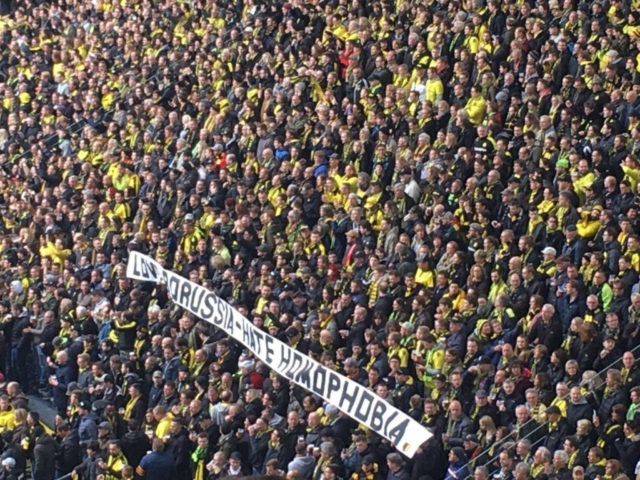 Love Borussia - Hate Homophobia